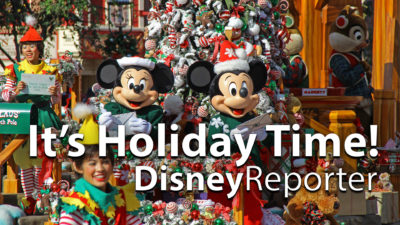 It's Holiday Time - Disney Reporter