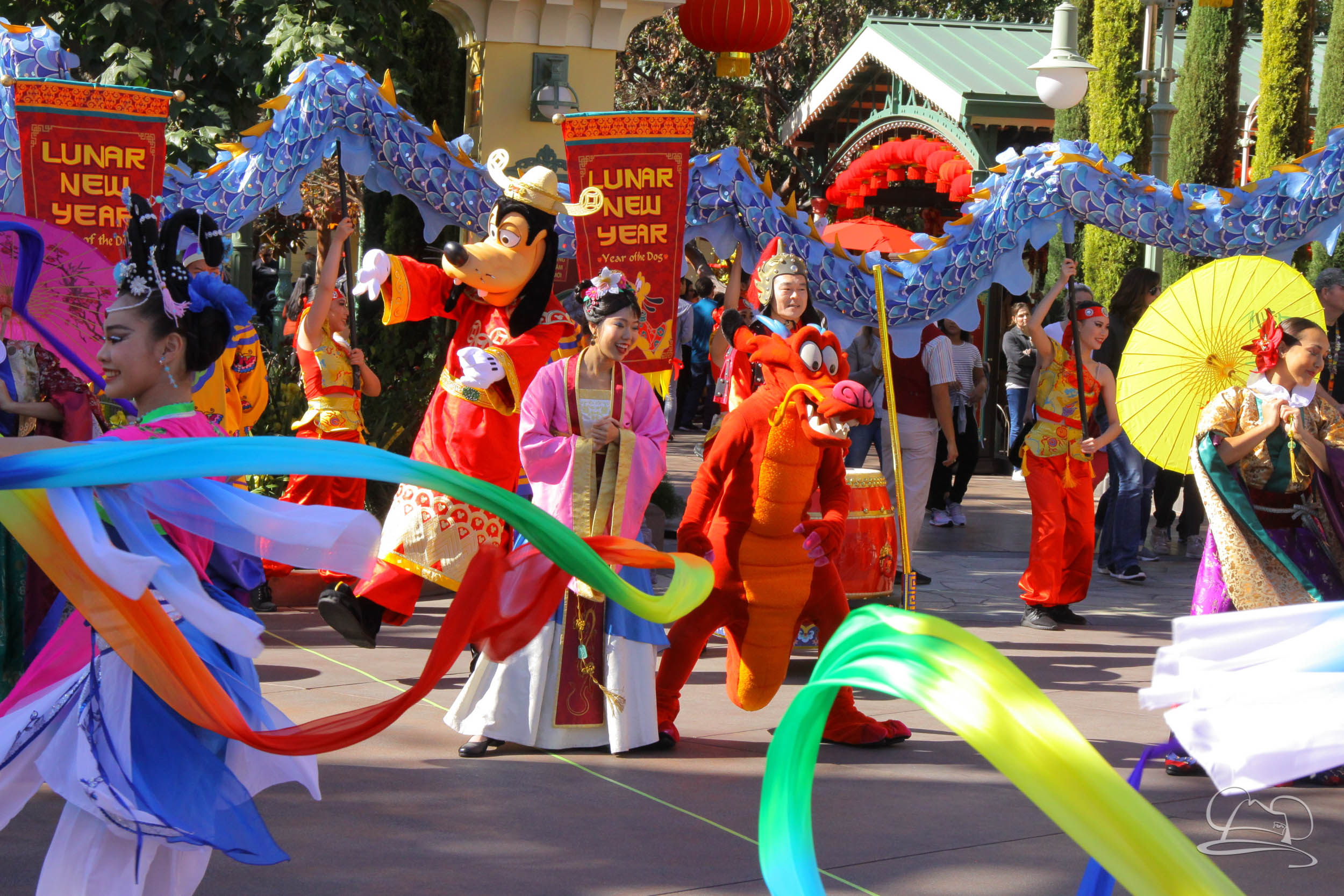 The Disneyland Resort Celebrates Year of the Dog with Lunar New Year Festival!