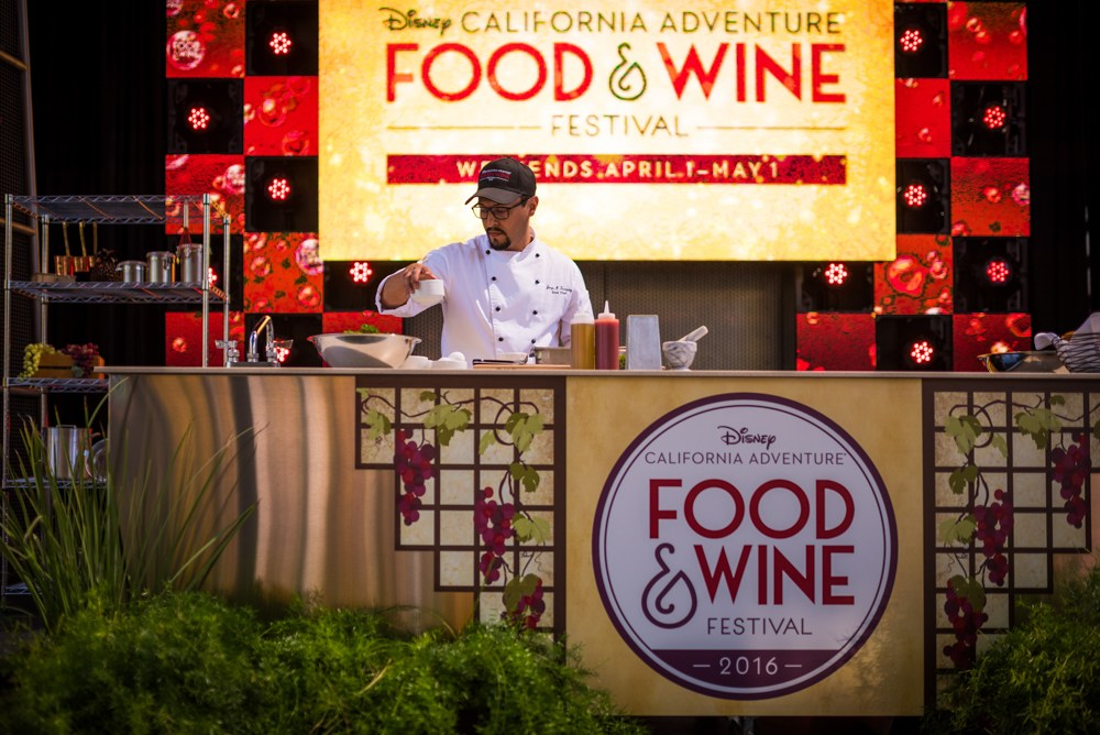 Disney California Adventure Food & Wine Festival Events Reservations Open to Guests
