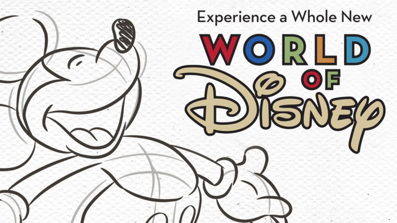 World of Disney to be re-imagined
