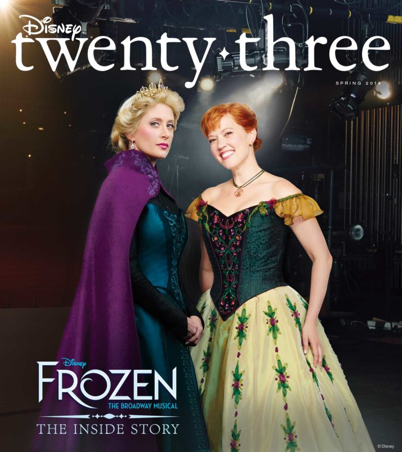 JOURNEY BEHIND THE SCENES OF DISNEY'S NEW BROADWAY MUSICAL, FROZEN, WITH DISNEY TWENTY-THREE