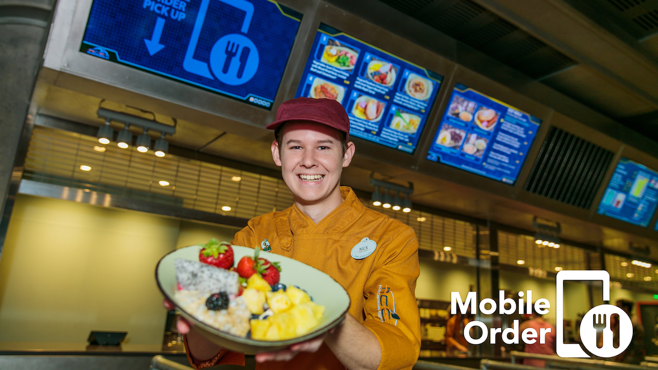 Dining Plan Guests at Walt Disney World Can Now Mobile Order!