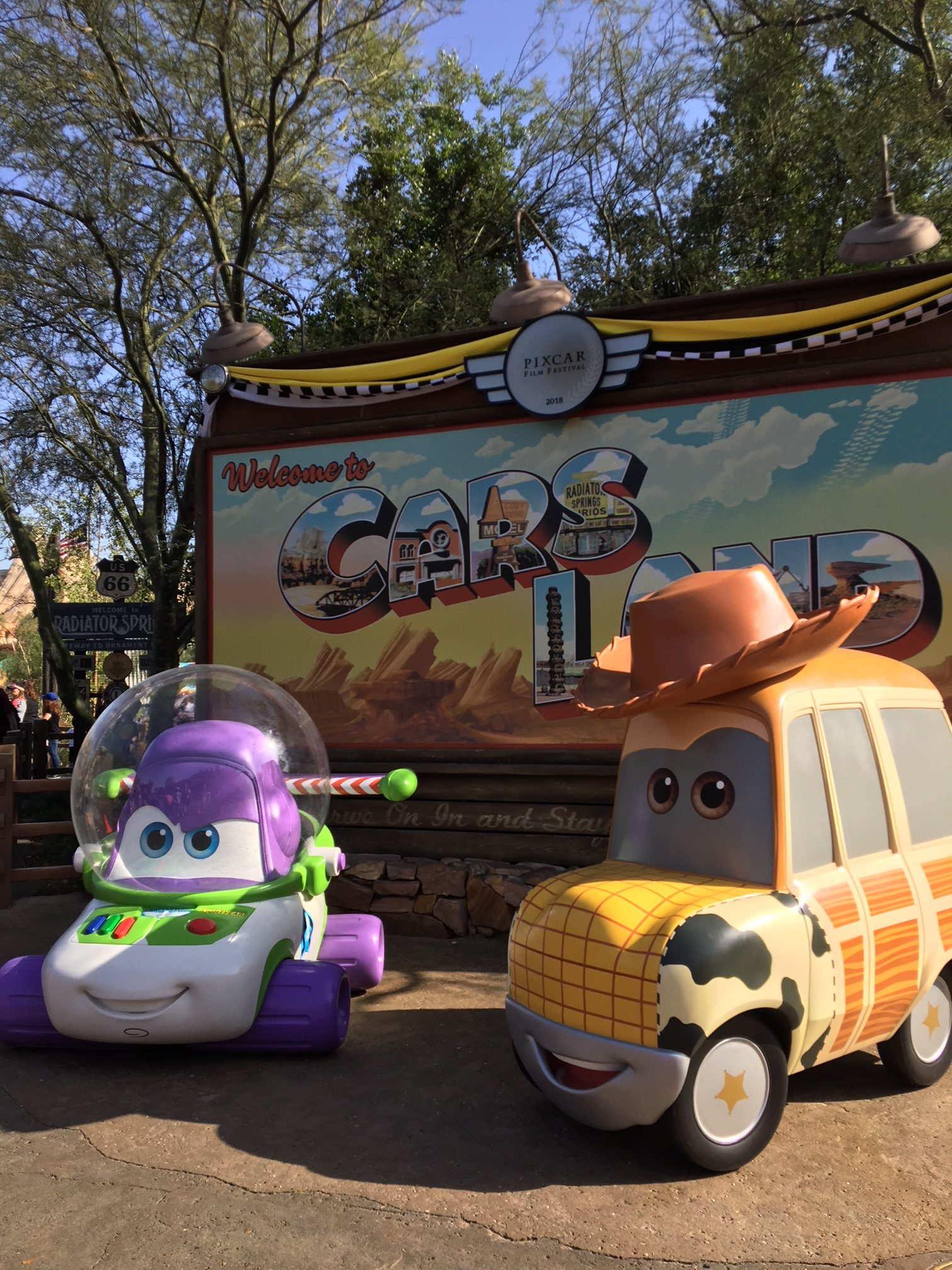 Pixar Fest in Cars Land