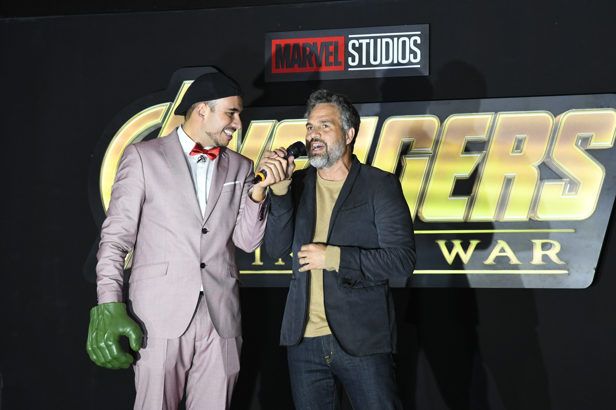 Red Carpet Fan Event Held in Mexico City for Avengers: Infinity War