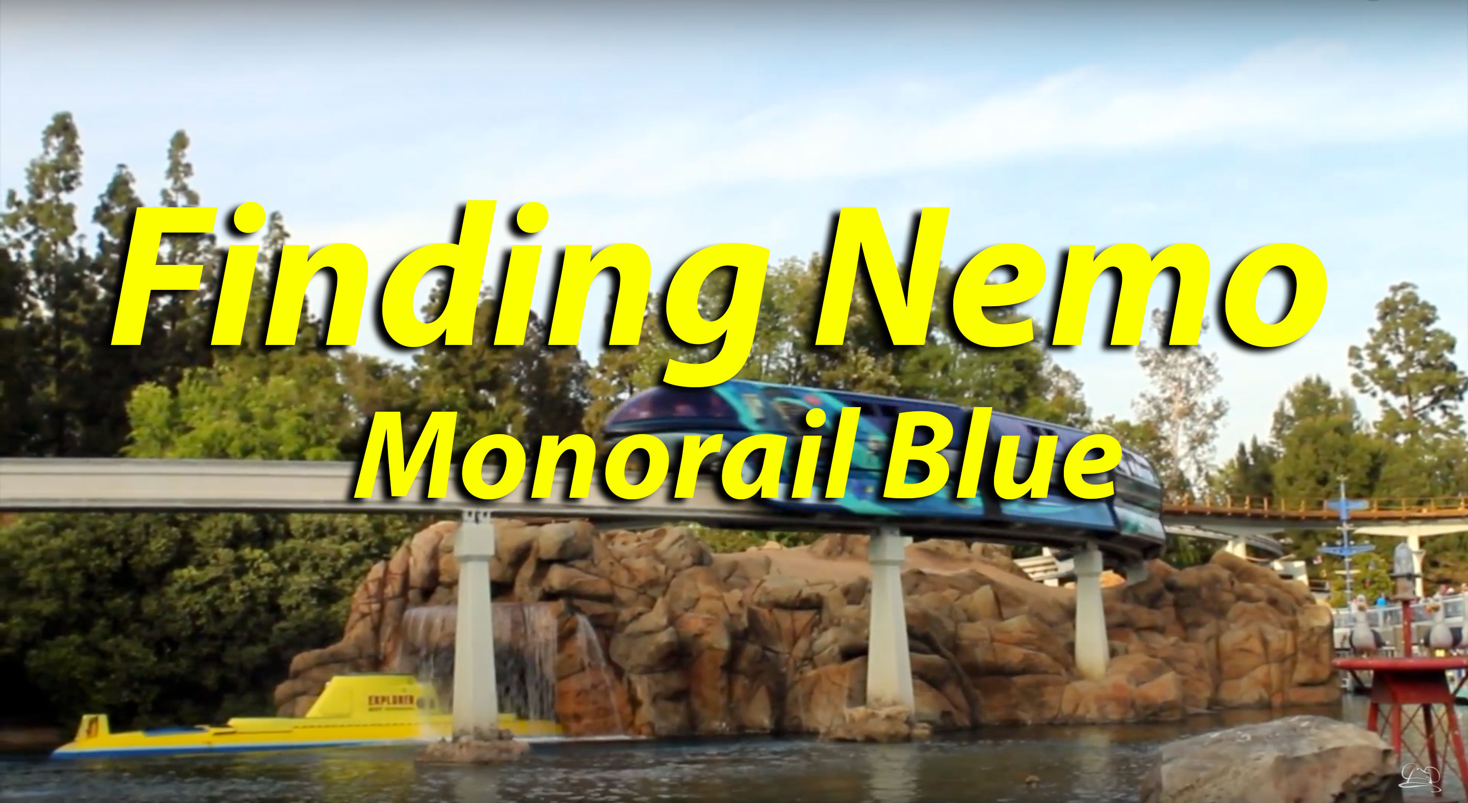 Finding Nemo Monorail Blue