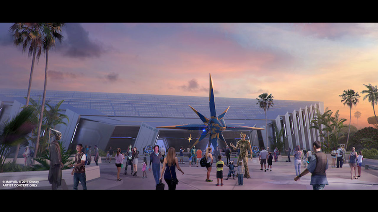 Epcot Continues to Make Way for Next Guardians of the Galaxy Adventure