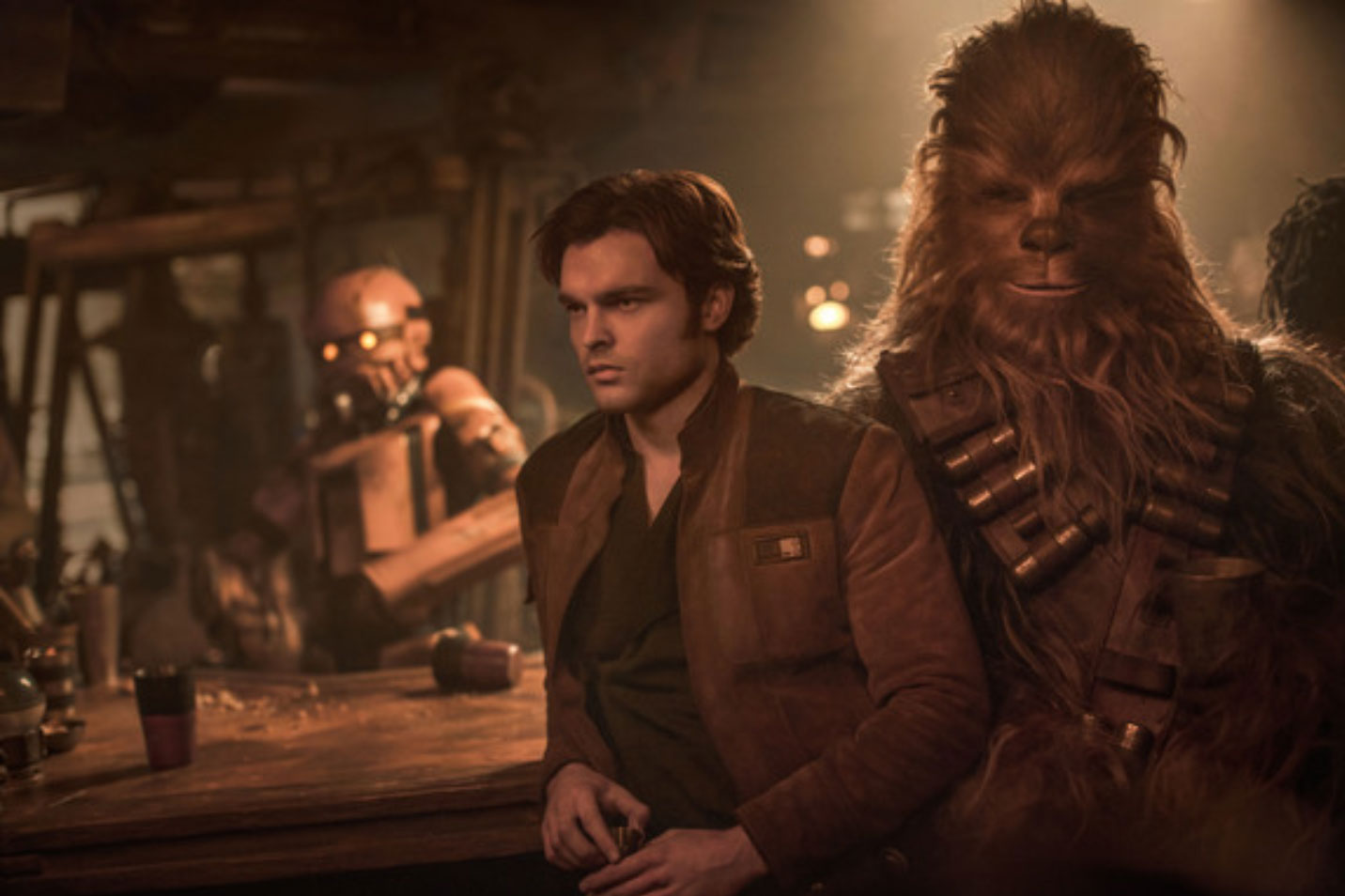 Solo: A Star Wars Story - Han Solo & Chewbacca