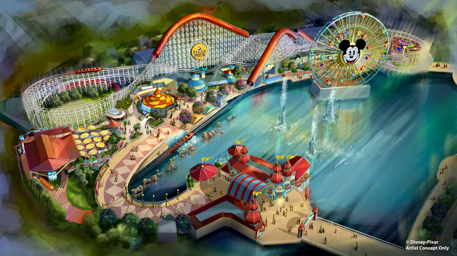 Be Among the First Guests to Experience Pixar Pier at Disney California Adventure Park on June 22