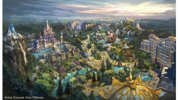 Tokyo DisneySea Will Bring Worlds of Disney and New Hotel in Largest Expansion Ever