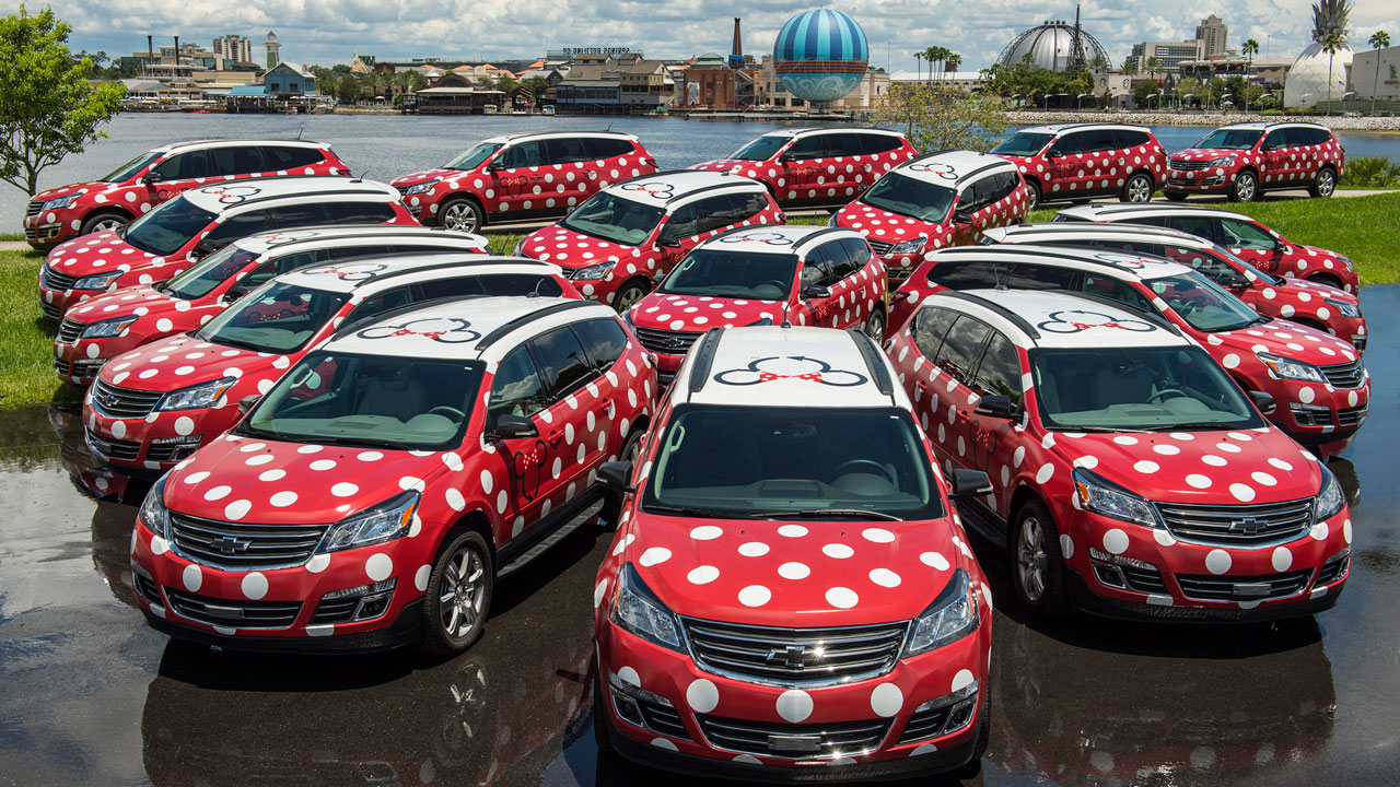 Minnie Van - Walt Disney World Resort