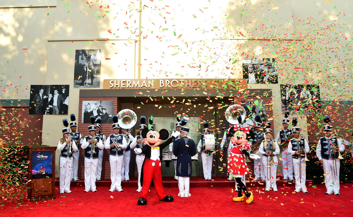 Disney Dedicates Orchestra Stage to Sherman Brothers During World Premiere of Christopher Robin