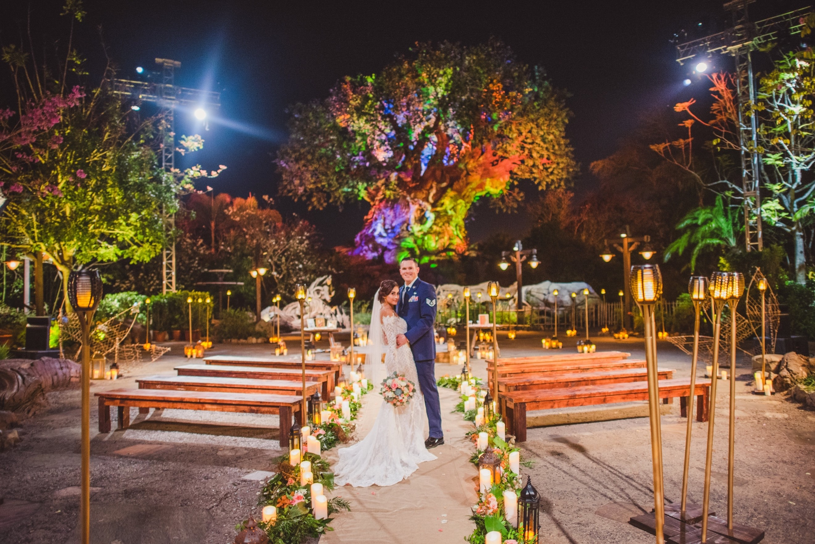 Disney's Fairy Tale Weddings Now Available in Front of Tree of Life at Disney's Animal Kingdom