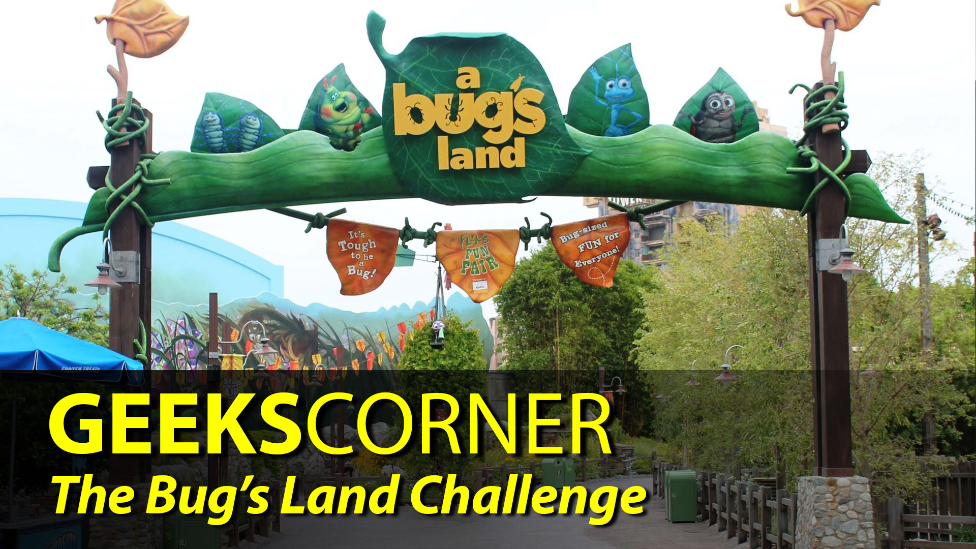 The Bugs Land Challenge - GEEKS CORNER - Episode 844