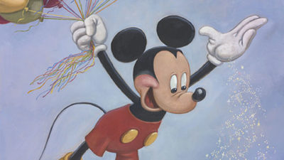 Mickey Mouse 90th Anniversary Portrait