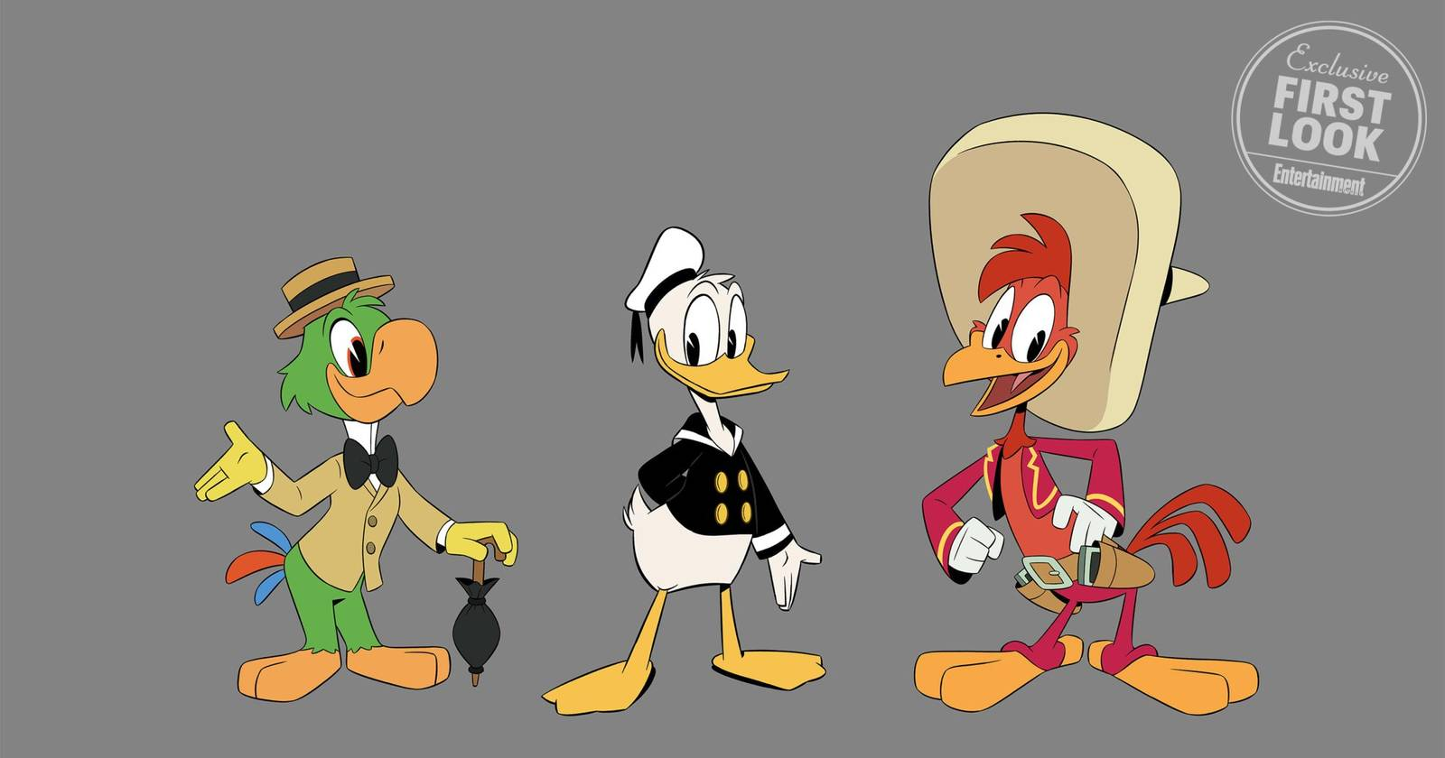 Three Caballeros Coming to DuckTales