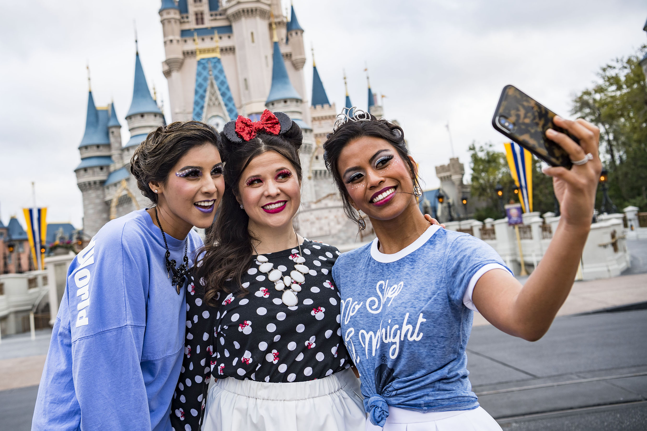 Guests' Favorite Disney Characters are the Inspiration for New Couture Makeovers at Walt Disney World Salons