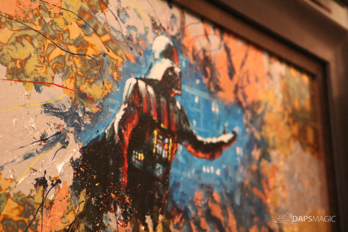 Artist James Coleman Delights at Snow White to Star Wars – A Disney Fine Art Exhibit at Chuck Jones Gallery