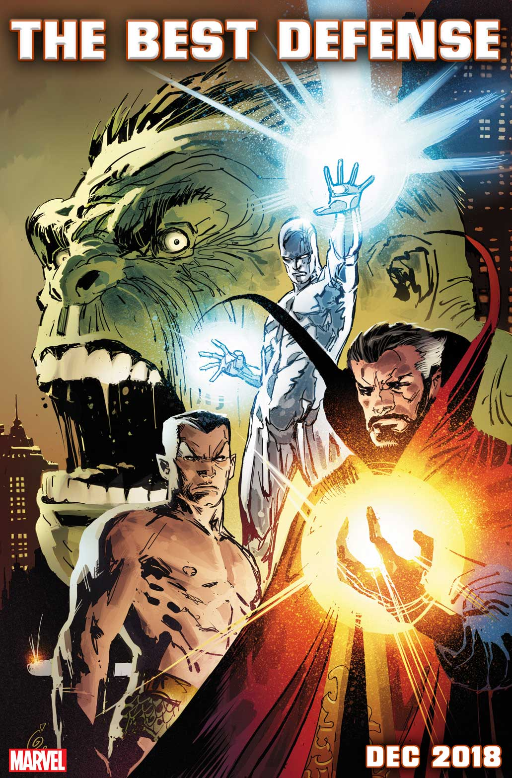Marvel Comics News Digest Featuring the Return of the Defenders