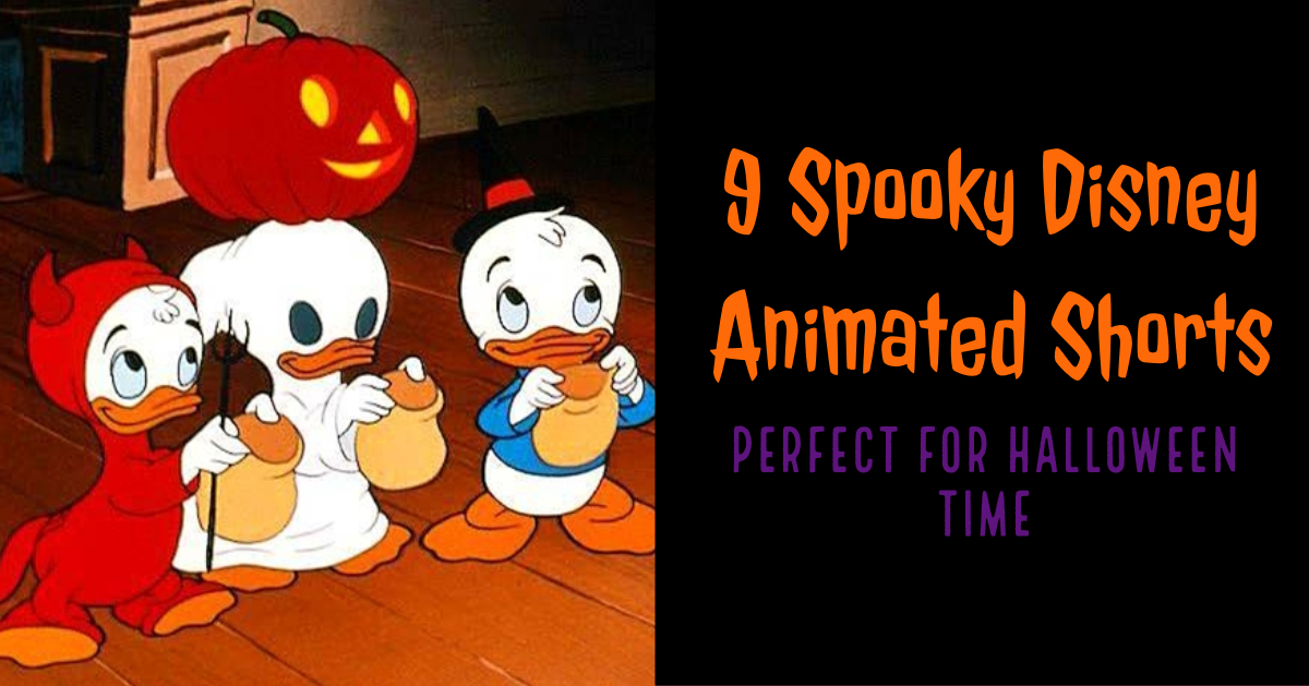 9 Spooky Disney Animated Shorts