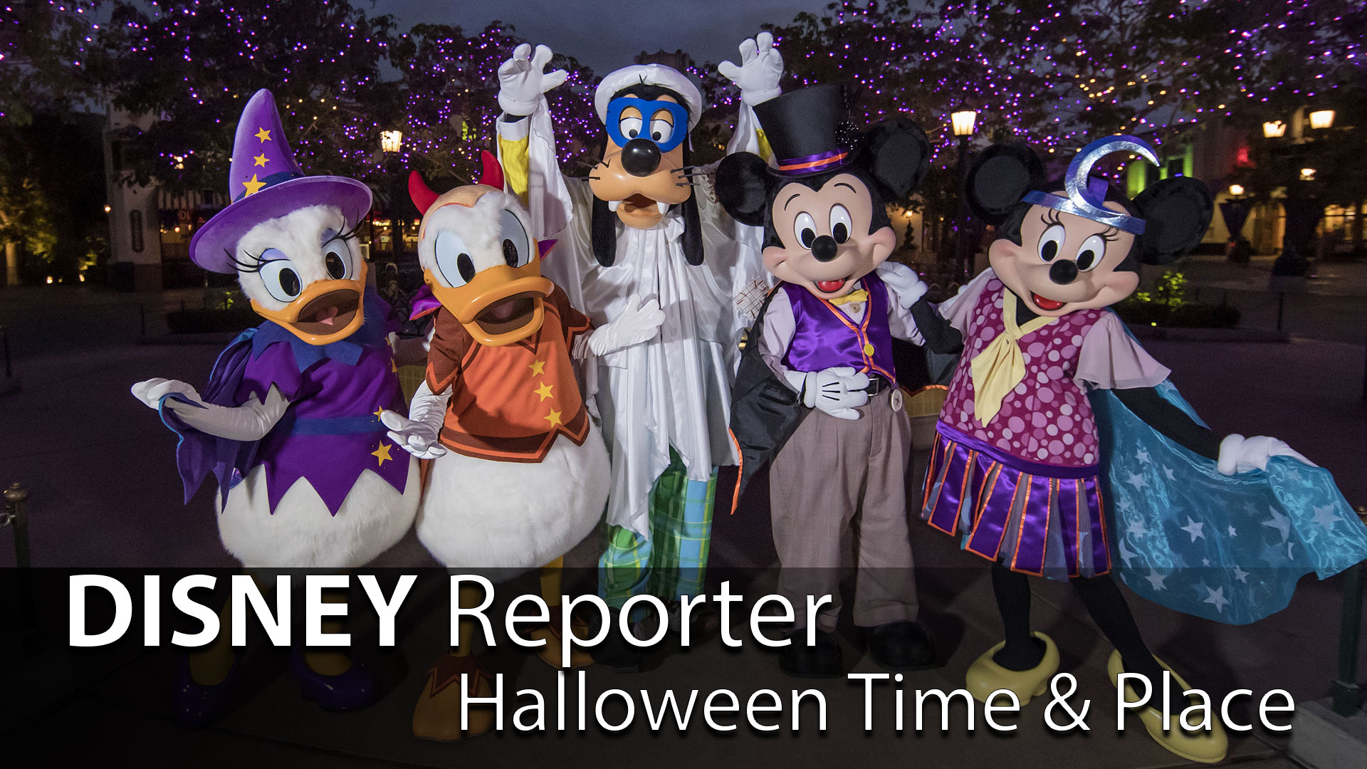 Halloween Time & Place – DISNEY Reporter