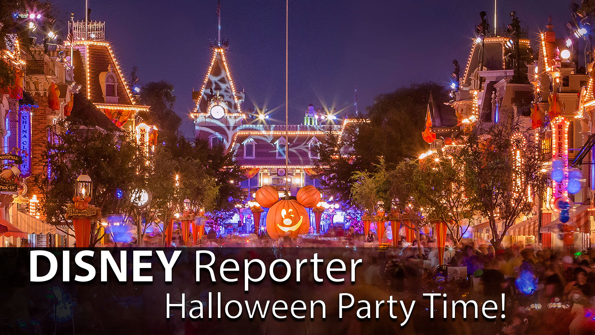 Halloween Party Time! - DISNEY Reporter