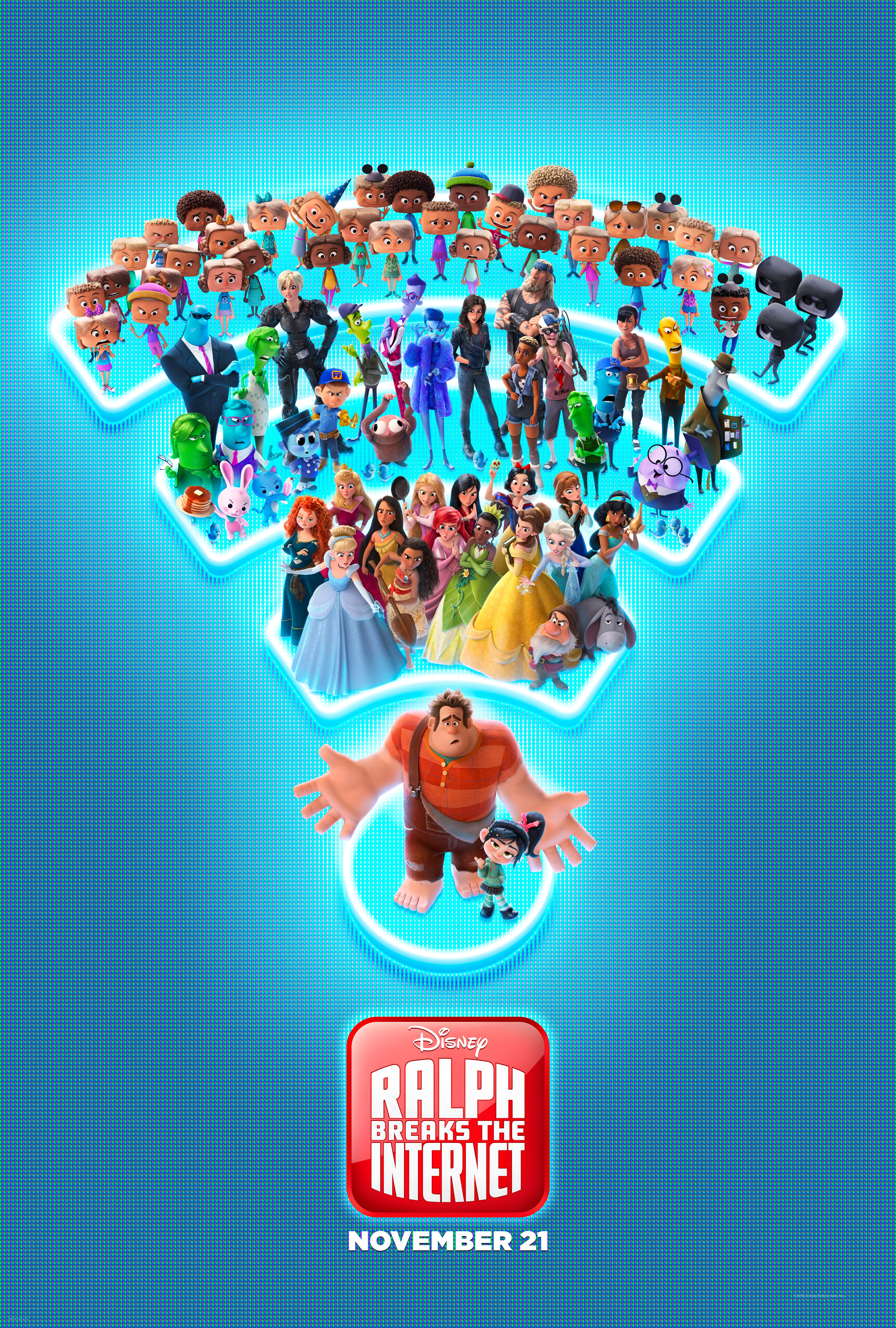 """Celebrate #InternetDay with an All-New Clip from """"Ralph Breaks the Internet"""" coming to Theaters November 21"""