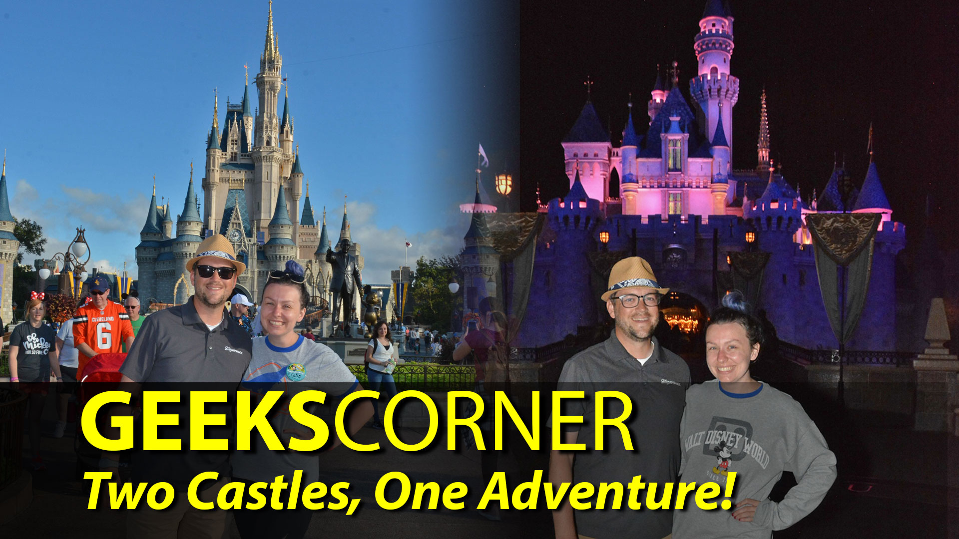 Two Castles, One Adventure! - GEEKS CORNER - Episode 904