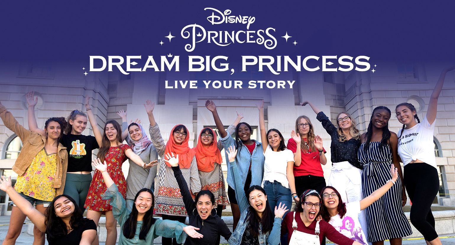 Disney Launches #DreamBigPrincess Global Video Series Ahead of International Day of the Girl