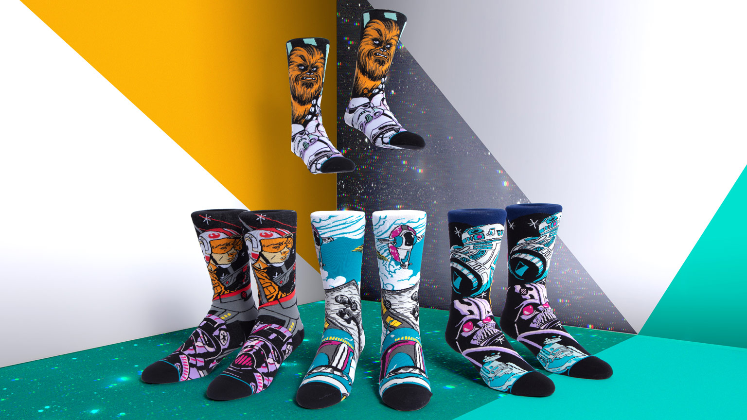Show Your Star Wars Style With the New Bold and Colorful Holiday Collection from Stance