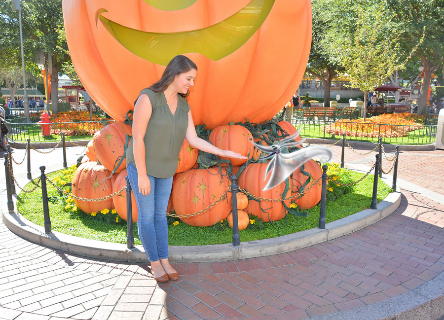 Celebrate 25 Years of Two Holidays Colliding with Disney PhotoPass Magic Shots Inspired by 'Tim Burton's The Nightmare Before Christmas' at the Disneyland Resort