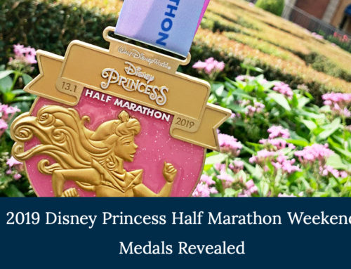 2019 Newly Unveiled Disney Princess Half Marathon Weekend Medals Offer a Royal Collection for Runners at the Walt Disney World Resort