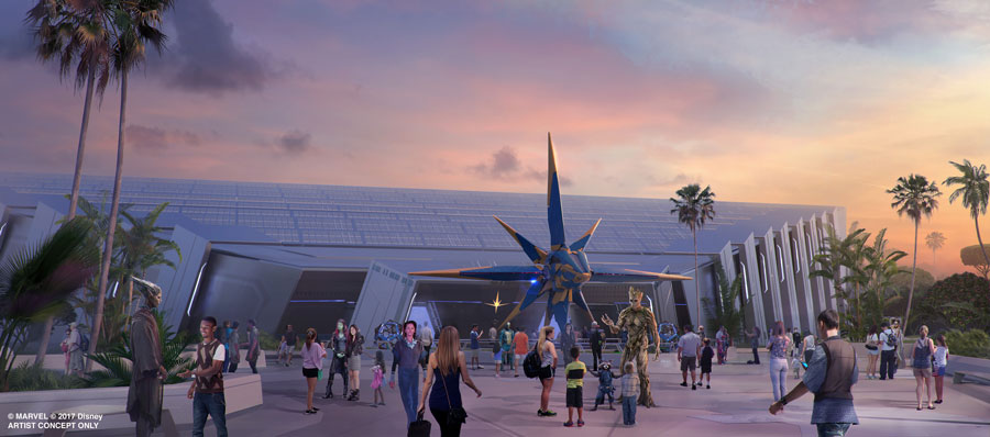 Innovative Storytelling 'Coaster Ride' Vehicle to be Utilized in Epcot's Guardians of the Galaxy Attraction