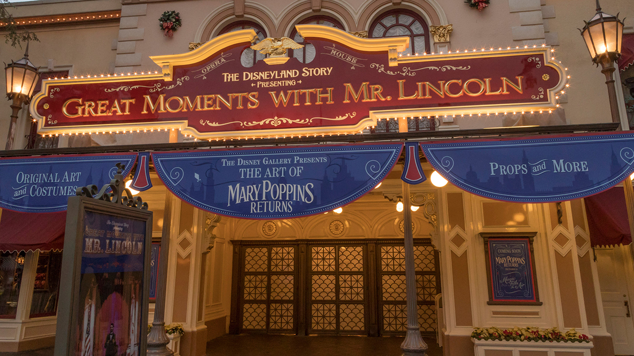 The Magical Art of Mary Poppins Come to Disneyland Resort Before it Hits Theaters December 19