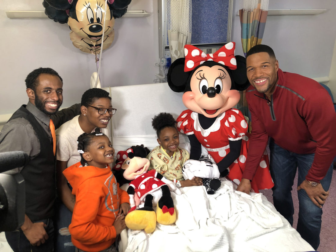Young Transplant Recipient Surprised by Minnie Mouse, Trip to Walt Disney World