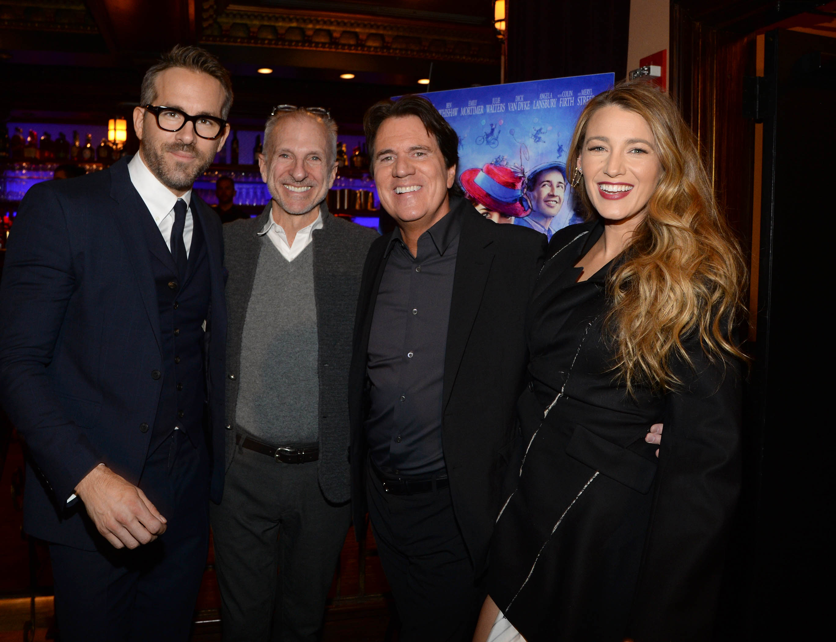Blake Lively and Ryan Reynolds Host Screening of Mary Poppins Returns in New York for Emily Blunt and Filmmakers