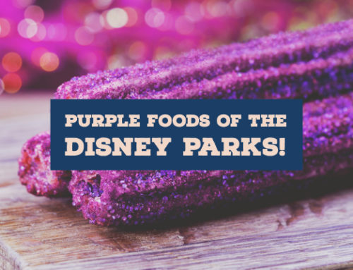 Purple is Where Its At – Take a Look at All the Purple Foods Found in the Disney Parks