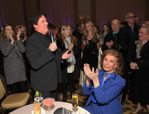 Sophia Loren Hosts Star-Studded Screening of Mary Poppins Returns in Hollywood