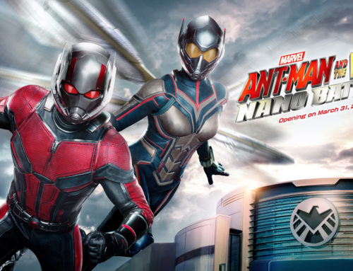 Hong Kong Disneyland's Newest Attraction, Ant-Man and The Wasp: Nano Battle! to Open March 31