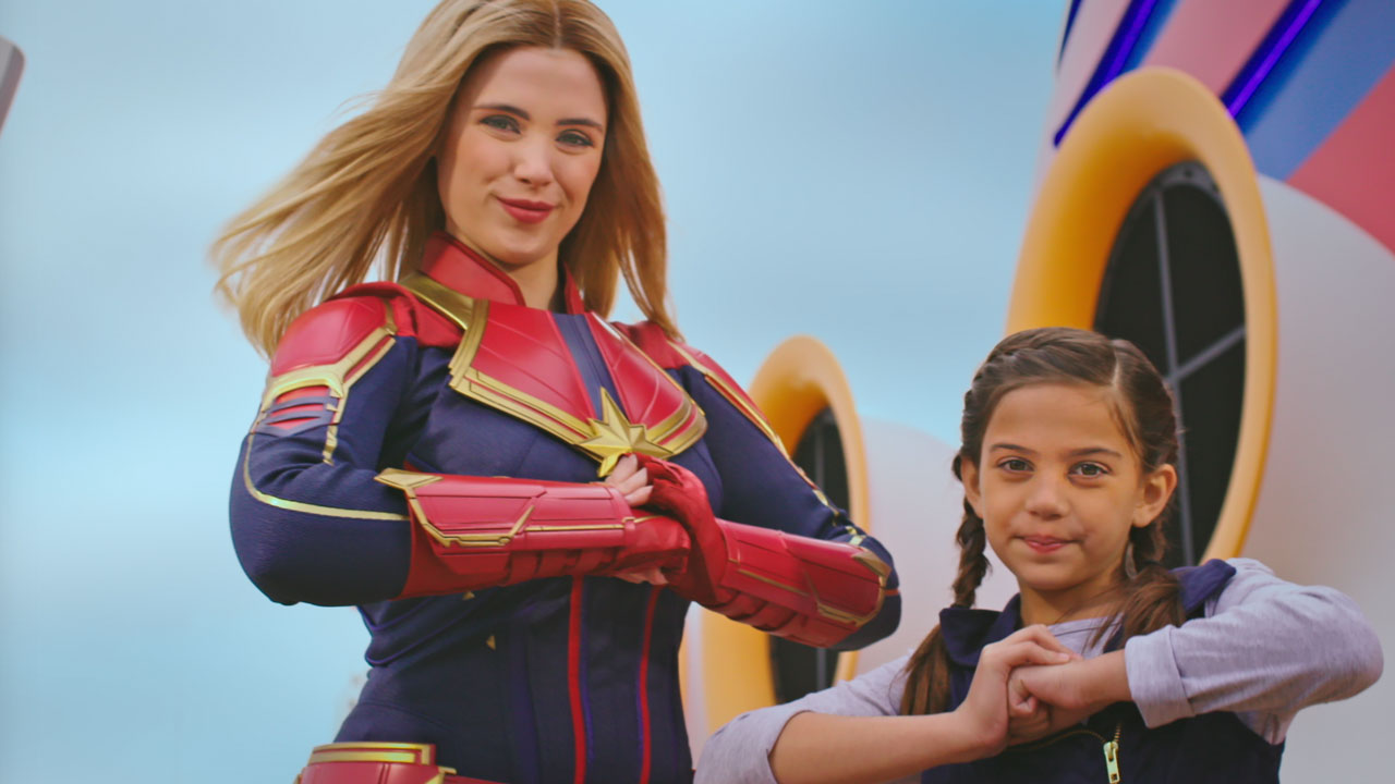 Go #HigherFurtherFaster with Captain Marvel as She Comes to Disney Parks and Cruise Line Later This Year