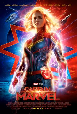 "Get Your Exclusive Look at ""Captain Marvel"" with Clip from ESPN"