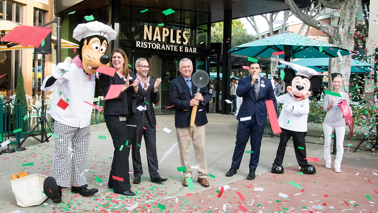 Get Your Exclusive Look Inside the Newly Remodeled Naples Ristorante e Bar and Napolini Pizzeria at Downtown Disney District