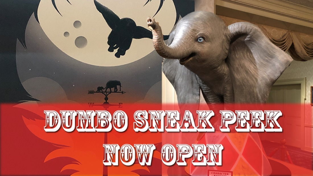 Join the Circus with the New Dumbo Preview on Main Street at Disneyland!