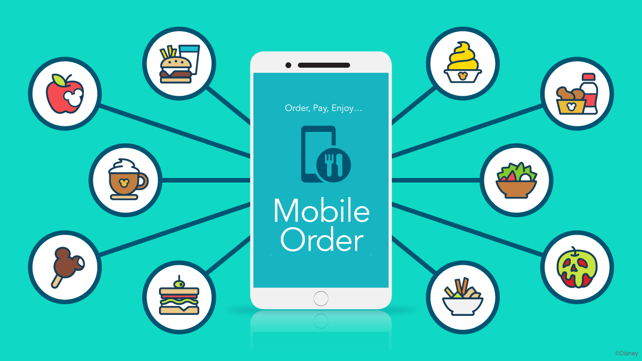 Mobile Order Experience Gets a Brand New Look For Guests at Disneyland and Walt Disney World