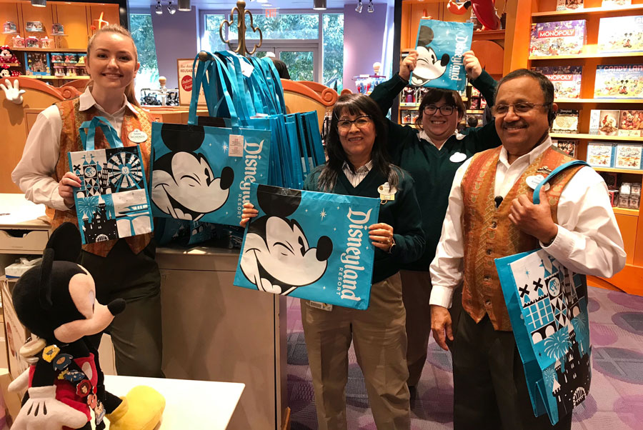 New Reusable Shopping Bags Arrive at the Disneyland and Walt Disney World Resorts