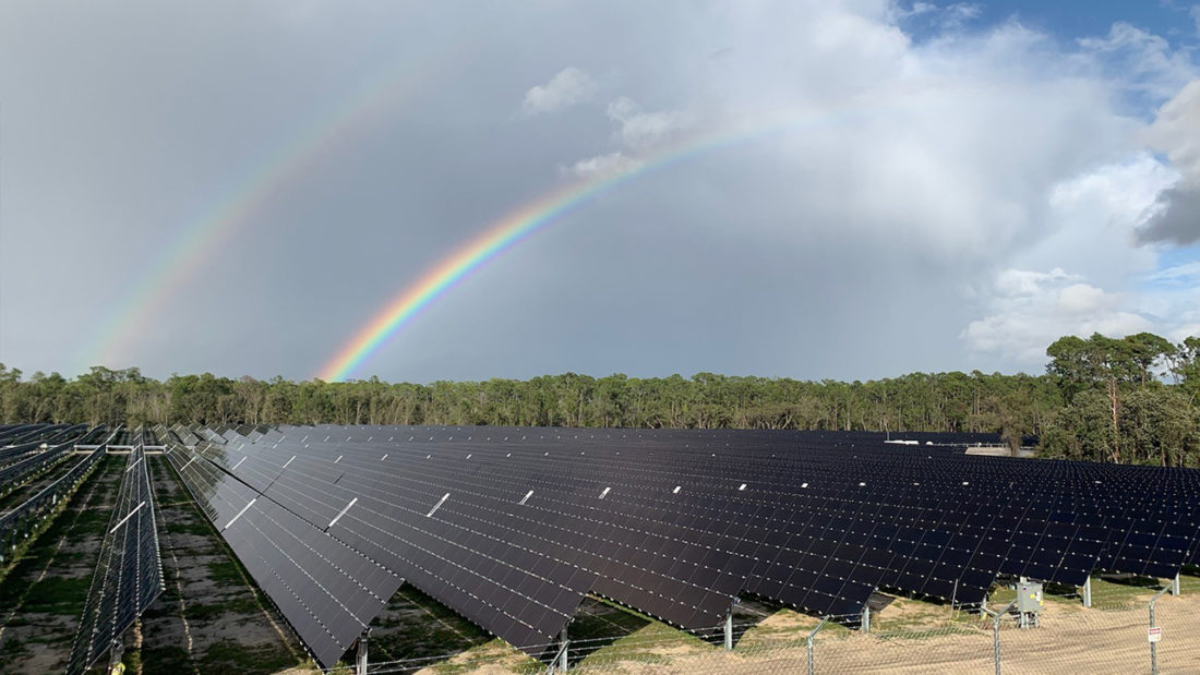 Solar Power Facility at Walt Disney World Resort