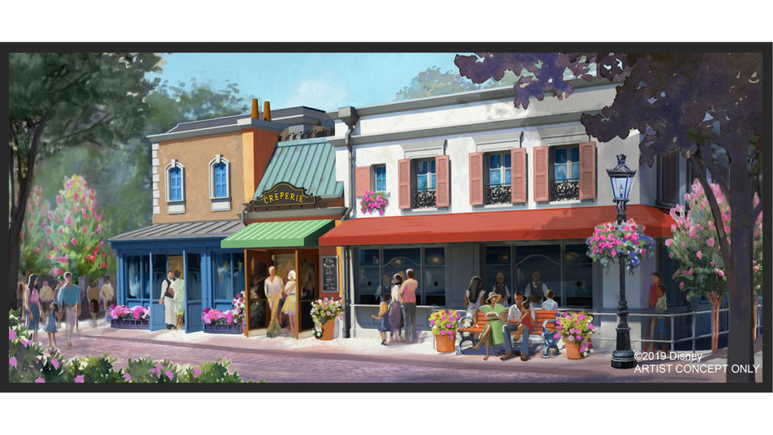 Creperie Concept Art in France Pavilion