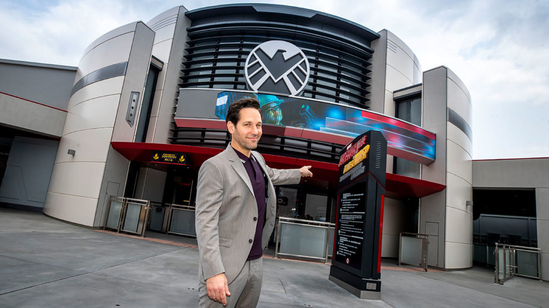 Heroes of all sizes go all-in with Super Heroes and Hong Kong's unique Marvel character at the world's first Ant-Man and The Wasp attraction