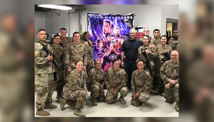 Avengers: Endgame Shown to Troops in Afghanistan