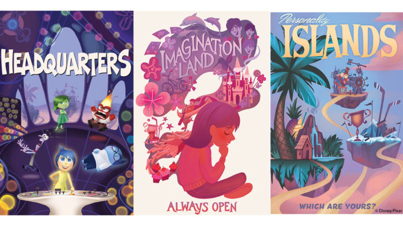 Inside Out Emotional Whirlwind Posters