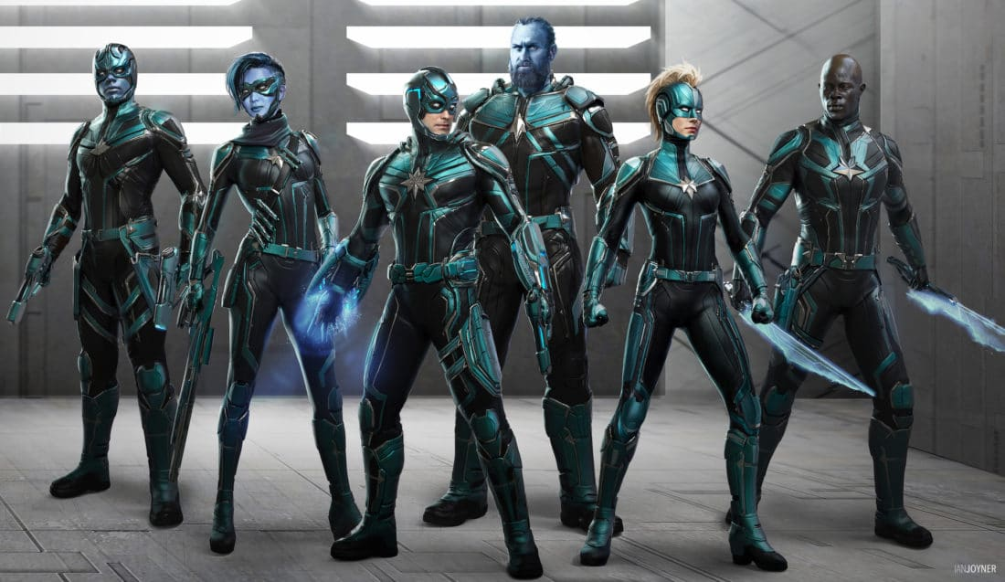 """Get Ready to Bring """"Captain Marvel"""" to Your Home Entertainment System with Special Bonus Features Featuring the Kree"""